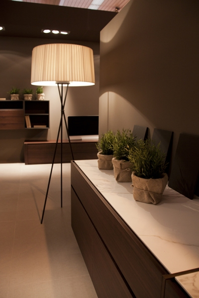 Bufet area sobre neolith.